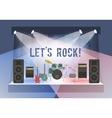 Rock Concert Stage vector image