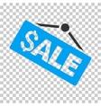 Sale Signboard Icon vector image