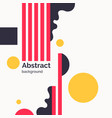 abstract background with straight lines and vector image vector image