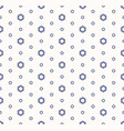abstract geometric seamless pattern with hexagons vector image vector image