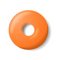 donut without glaze vector image