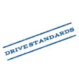 Drive Standards Watermark Stamp vector image vector image