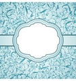 seamless frosty pattern vector image vector image