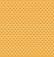 wafer seamless pattern vector image vector image