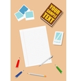 work table vector image