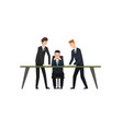 business meeting and teamwork colleagues vector image vector image