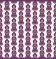 geometric drop ornament pattern seamless vector image vector image