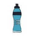 isolated water bottle design vector image vector image