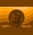 kuda lumping indonesian traditional dance vector image vector image