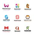 Letters Symbol Design vector image vector image
