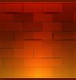 light red brick wall 3d brick wall abstract vector image