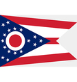Ohio Flag vector image vector image