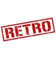 retro stamp vector image vector image