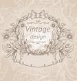 retro vintage emblem vector image vector image