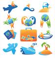 travel logos vector image