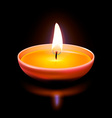 Diwali Candle vector image