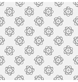 Atoms seamless pattern vector image