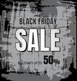 black friday design background vector image vector image