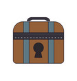 chest icon image vector image vector image