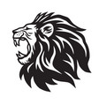 lion roaring icon logo template vector image vector image