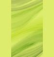 watercolor green wave background creative vector image vector image
