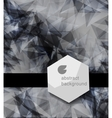abstract modern Label or bubble with background vector image vector image