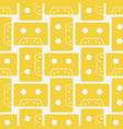 cassette colour seamless pattern vector image