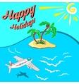 HappyHolidays vector image