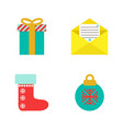 kinship set of icons flat style vector image