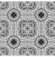 pattern line art tile background vector image vector image