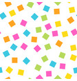 seamless abstract geometric pattern of squares in vector image
