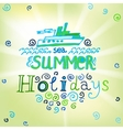 02 Holidays background vector image
