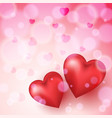 abstract background to the valentine s day vector image vector image