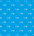 american glasses pattern seamless blue vector image vector image