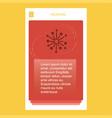 blast mobile vertical banner design design vector image