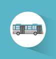 bus transport vehicle image vector image vector image