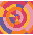 circle colorful modern abstract background vector image vector image