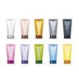 design cosmetics product vector image
