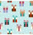 Flat colorful gifts vector image vector image