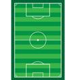 football soccer stadiun vector image vector image