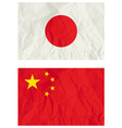 Japanese and China banners vector image vector image