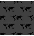 World map web icon flat design Seamless gray vector image