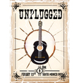 unplugged vector image