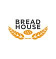 bakery shop emblem labels logo and design vector image