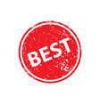 best stamp texture rubber cliche imprint web or vector image vector image