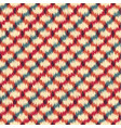 seamless ikat textured embroidery background vector image vector image