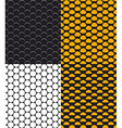set abstract dotted seamless pattern vector image