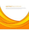 Absatract orange background vector image