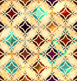 abstract vintage star seamless vector image vector image