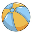ball icon cartoon style vector image vector image
